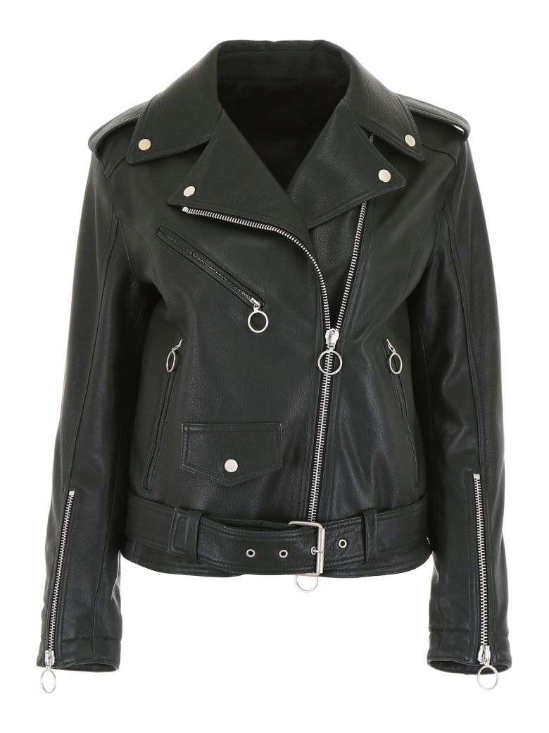 DROMe Leather Jacket - MEADOW (Green)