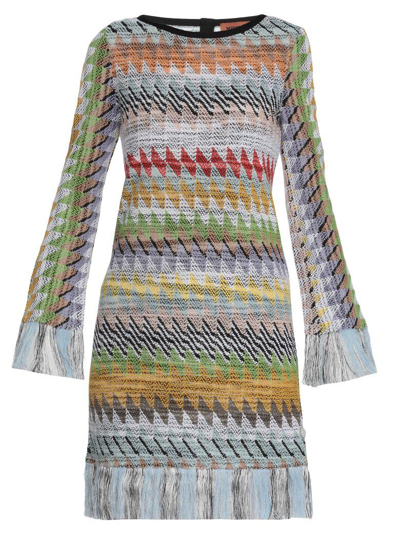 Missoni Multicolor Geometric Dress - Multicolor