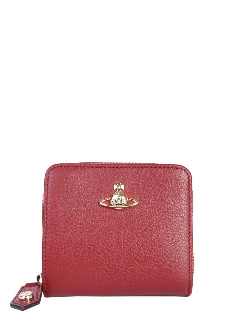 Vivienne Westwood Medium Balmoral Wallet - BORDEAUX