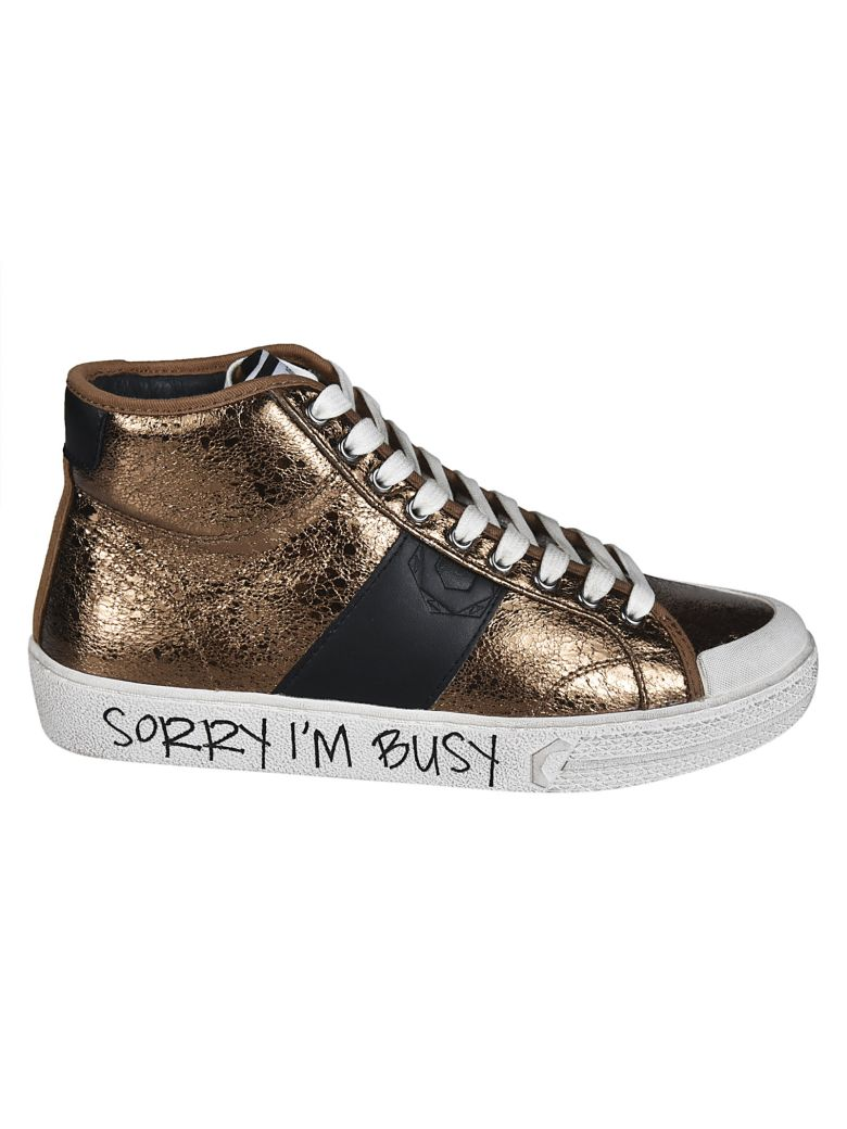 M.O.A. master of arts Master Of Arts Sorry I'm Busy Sneakers - Brown/Black