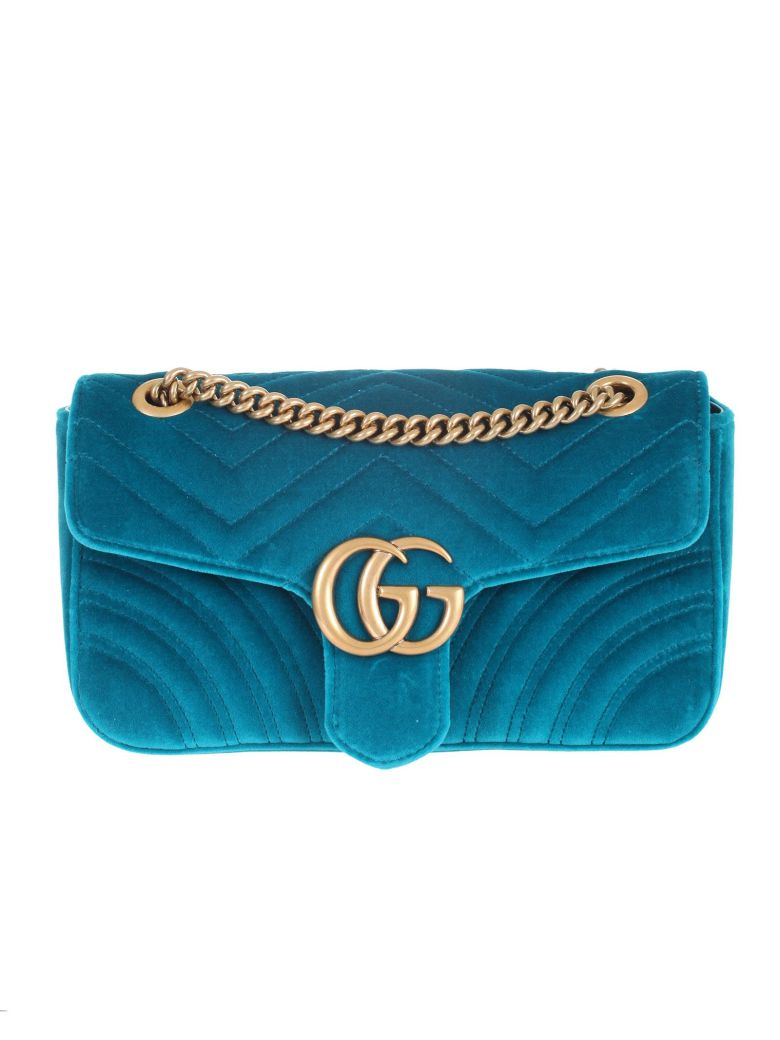 Gucci Marmont GG bag, small, - Verde