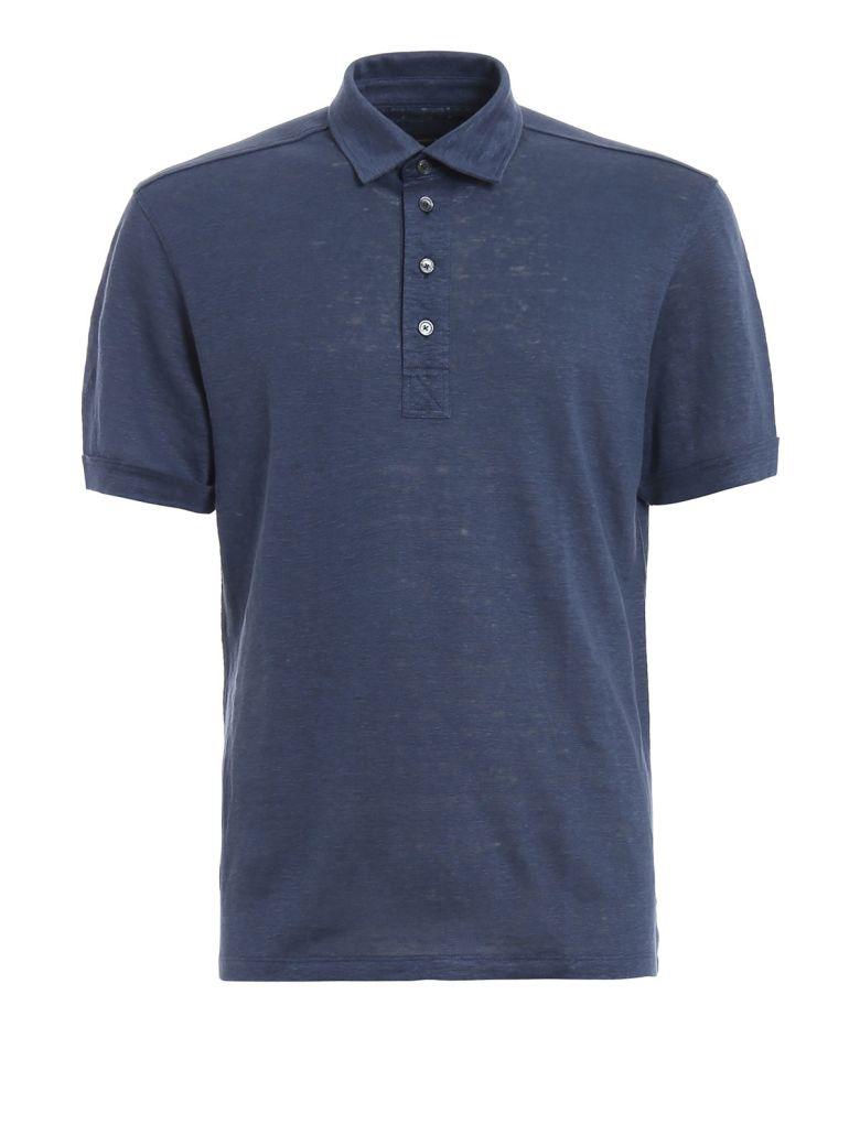 Ermenegildo Zegna Classic Polo Shirt - Blue