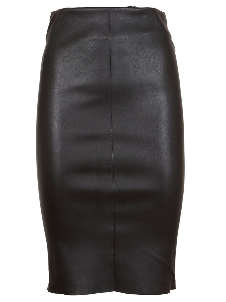DROMe Fitted Pencil Skirt - Nero