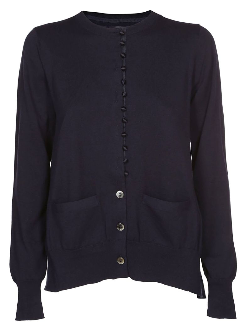 Sacai Buttoned Cardigan - Blue