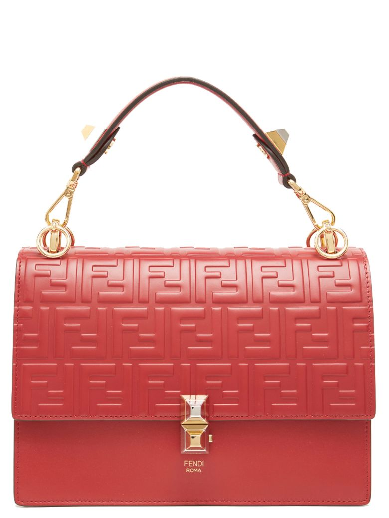 Fendi 'kan I' Bag - Red