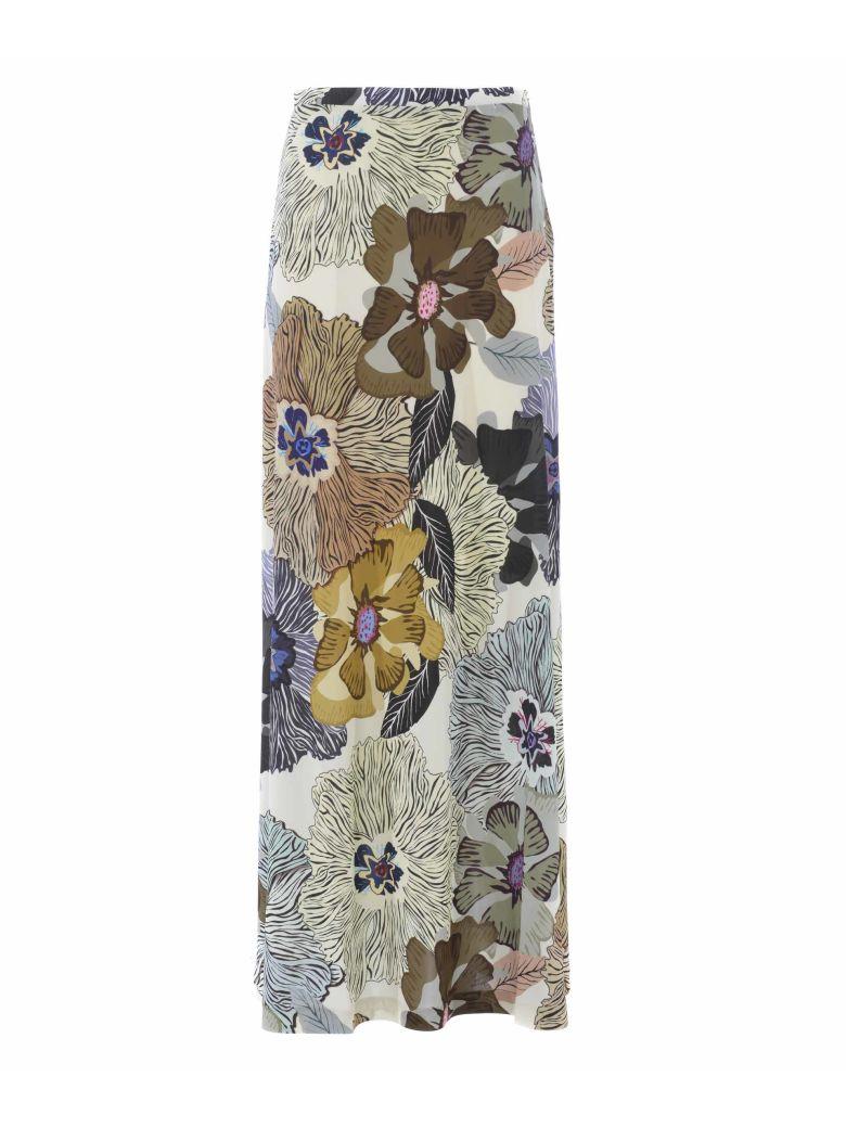 Etro Floral Print Long Skirt - Multicolor