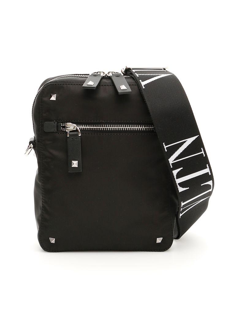 Valentino Nylon Vltn Messenger Bag - basic basic