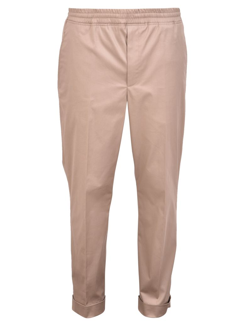 Neil Barrett Stretch Trousers - Brown