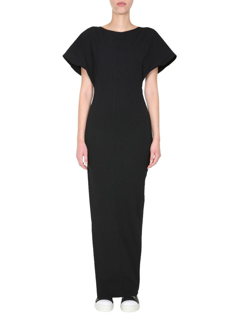 Rick Owens Naska Gown Dress - NERO