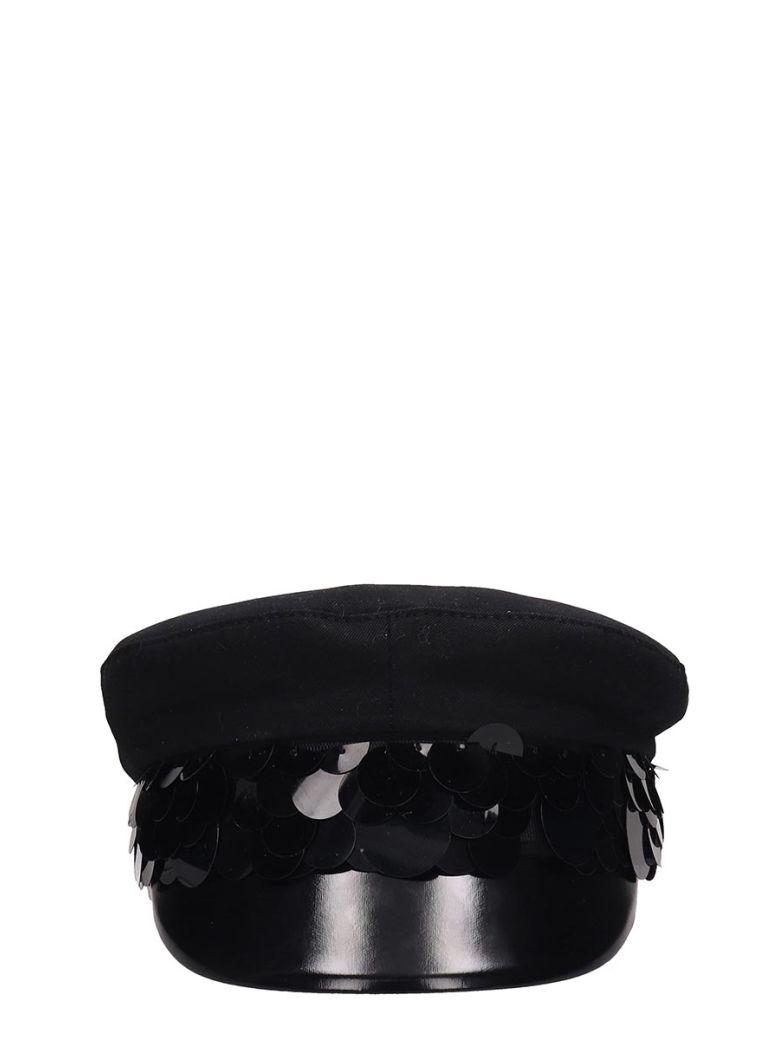 RTA Black Cotton Hat - black