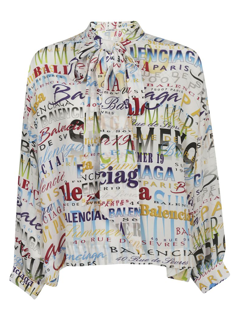 Balenciaga Printed Blouse - Basic