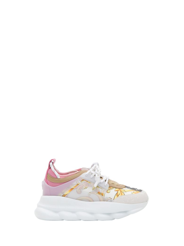 Versace Chain Reaction Sneaker With Baroque-print - Multicolor