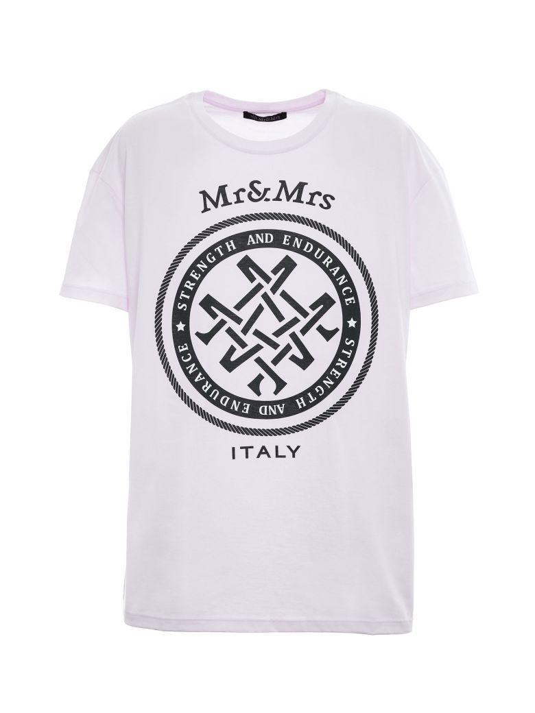 Mr & Mrs Italy Unisex Oversized T-shirt - PINK