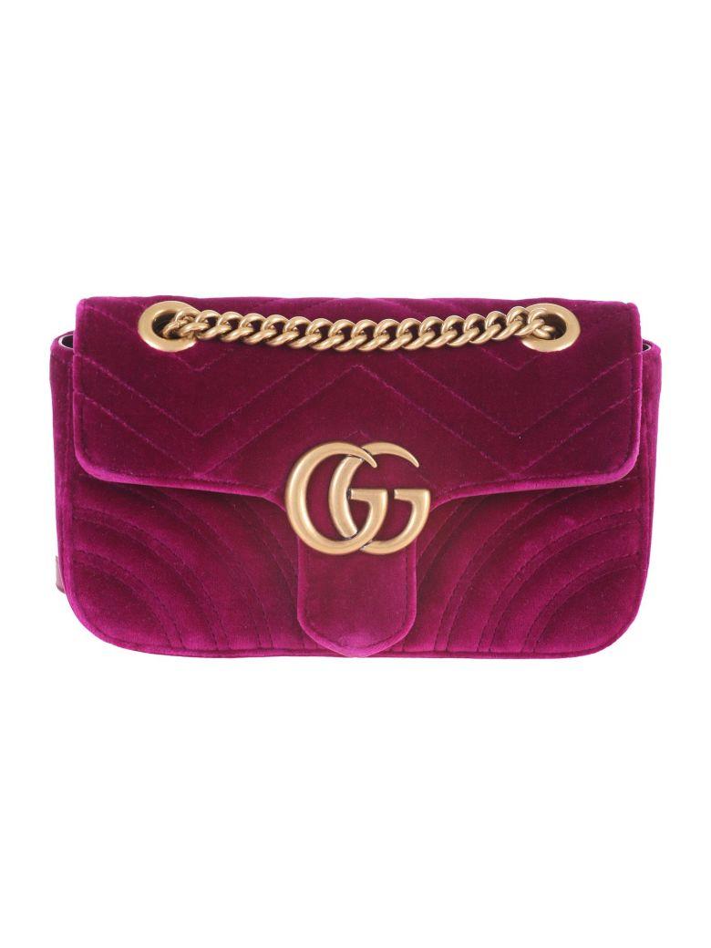 Gucci Marmont mini GG bag - Fuxia