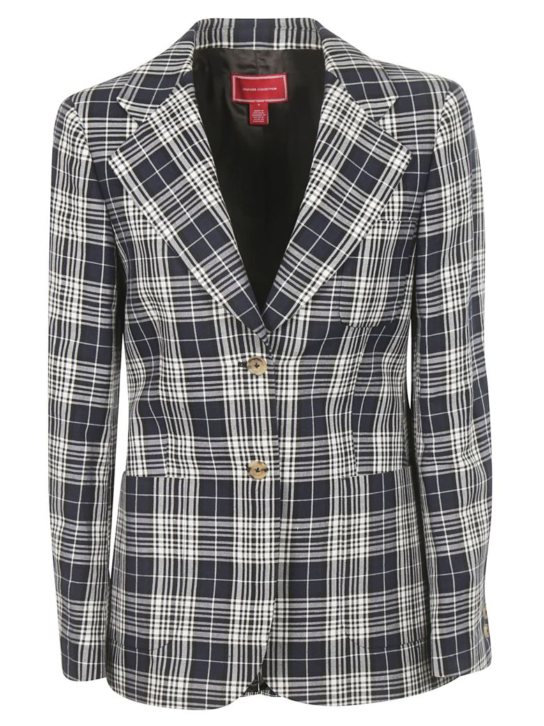 Tommy Hilfiger Tommy Hilfiger Checked Blazer - Deep Well Multi