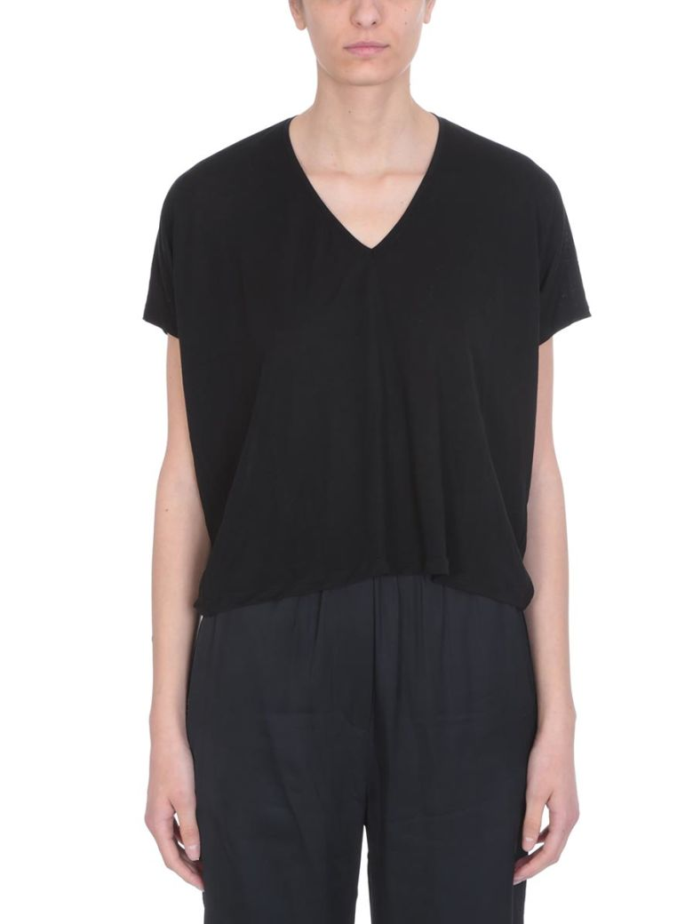 Acne Studios Black Viscose Kileo T-shirt - black