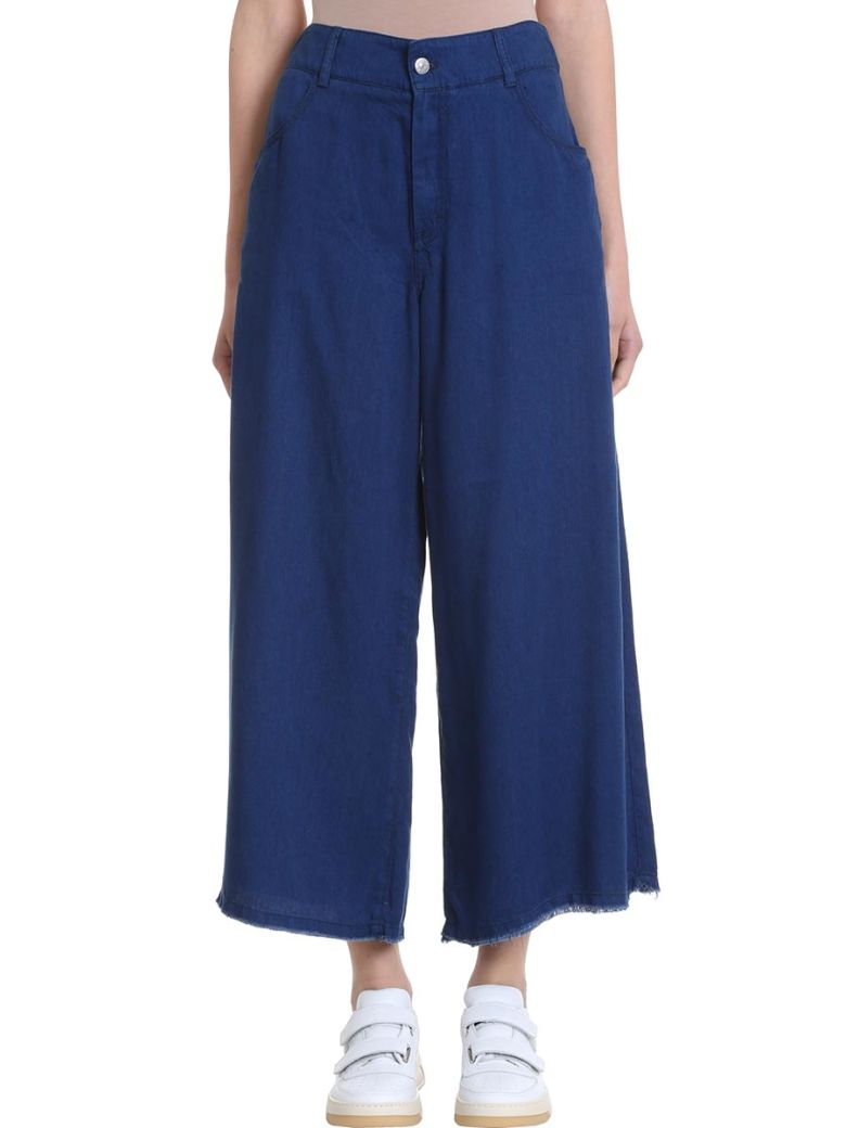 Acne Studios Pili Tencel Culottes Trousers - blue