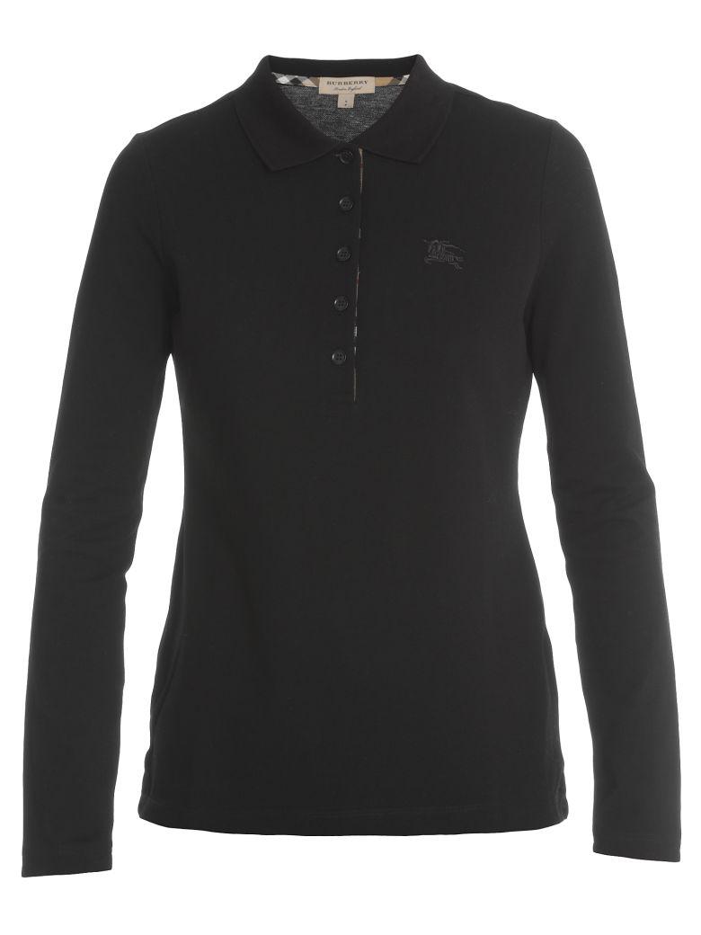 Burberry Zulia Polo Shirt - BLACK