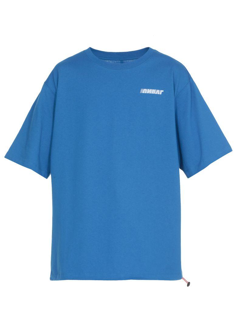 Ben Taverniti Unravel Project Cotton T-shirt - Blue