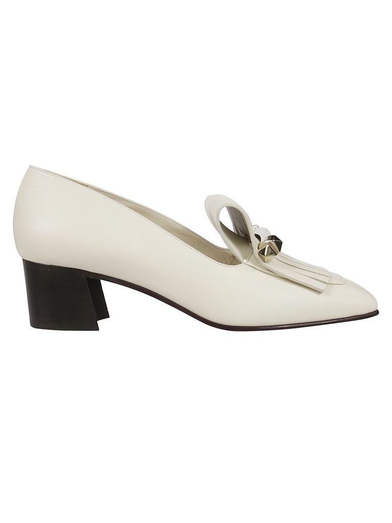 Valentino 45 Loafers - Light Ivory