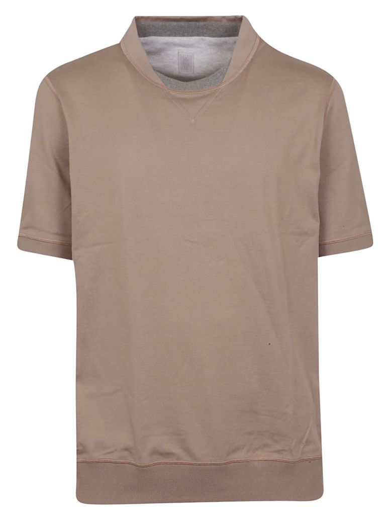 Eleventy Fitted T-shirt - Beige