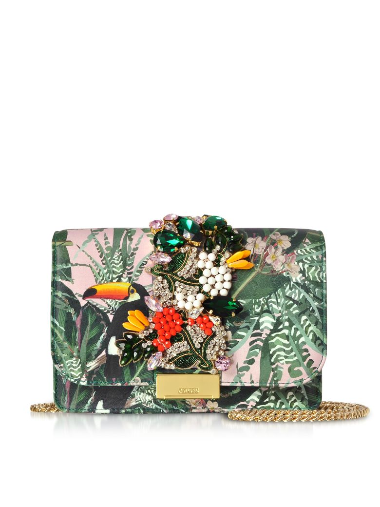 Gedebe Cliky Pink Toucan Clutch - Pink