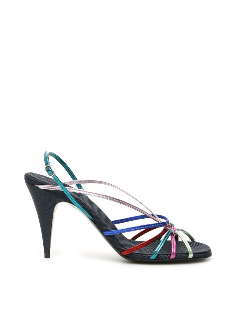 The Row Odeon Multicolour Sandals - MIDNIGHT (Blue)