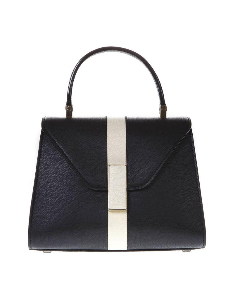 Valextra Black Iside Mini Bag In Leather - Black