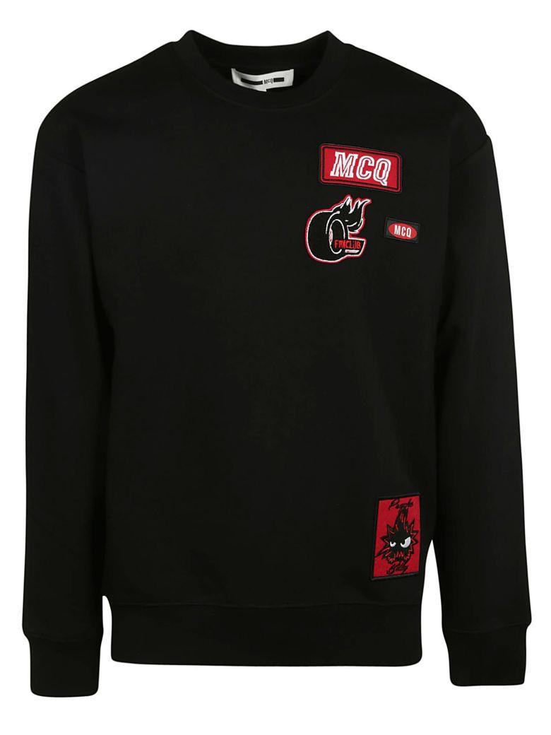 Alexander McQueen Logo Patch Sweatshirt - Black
