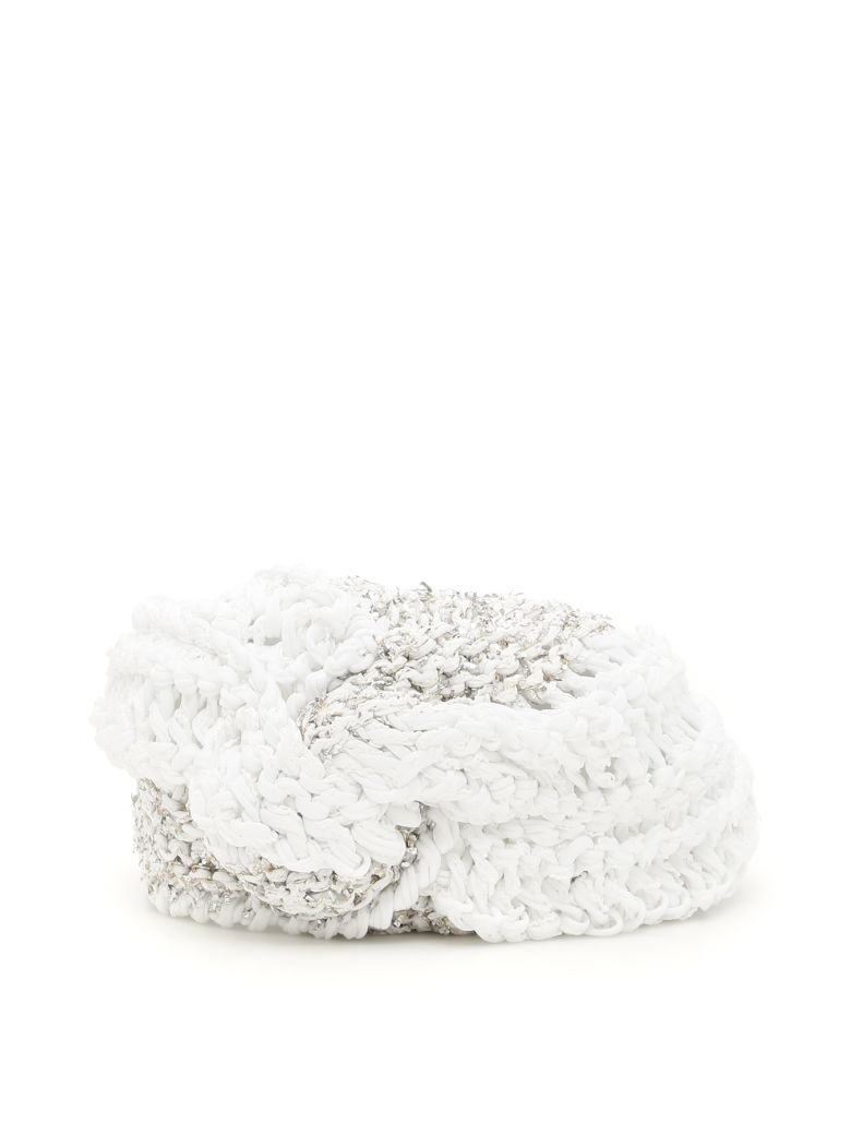 Flapper Vega Turban - WHITE SILVER|Bianco
