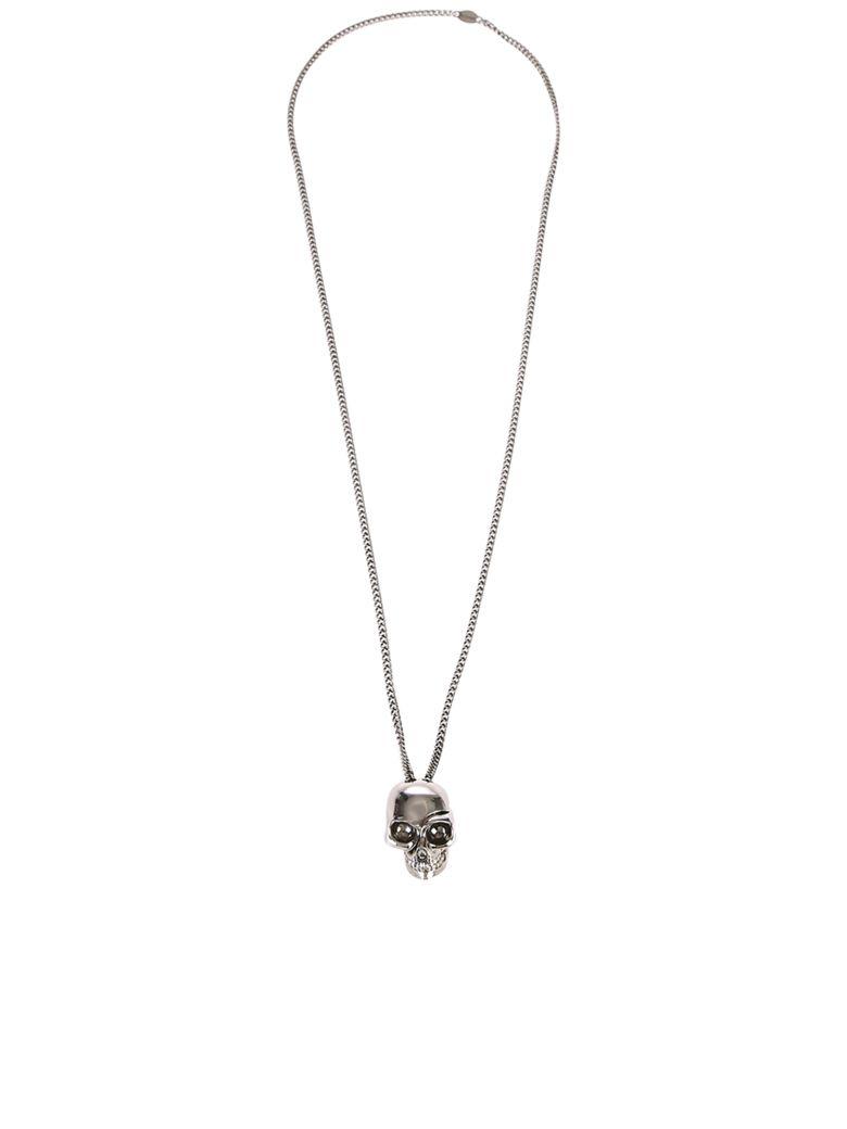 Alexander McQueen Skull Necklace - Metallic