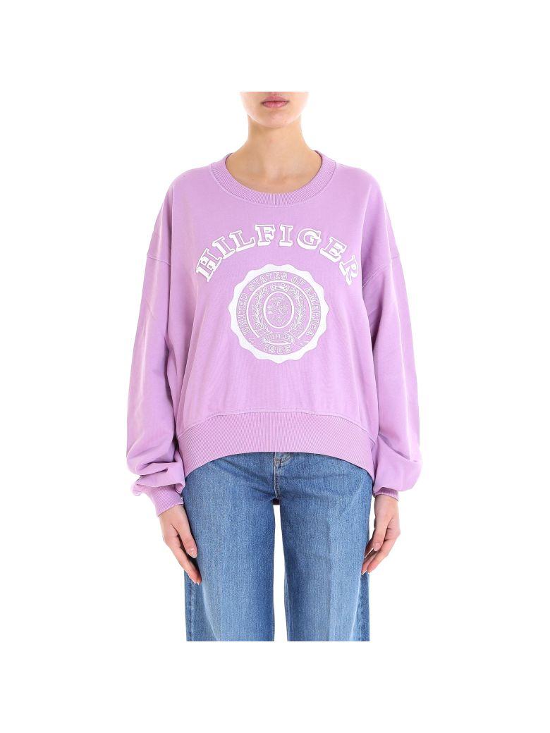Tommy Hilfiger Collegiate Sweatshirt - Purple