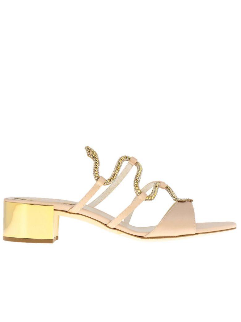 René Caovilla Rene Caovilla Heeled Sandals Shoes Women Rene Caovilla - Pink