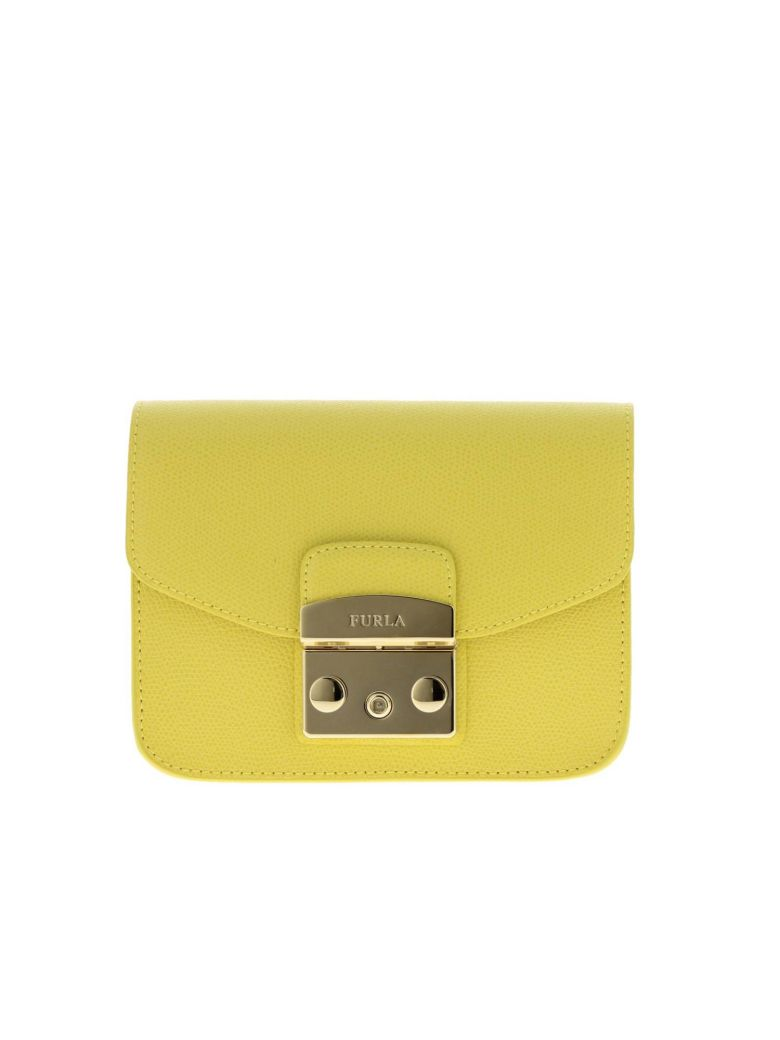 Furla Mini Bag Shoulder Bag Women Furla - yellow