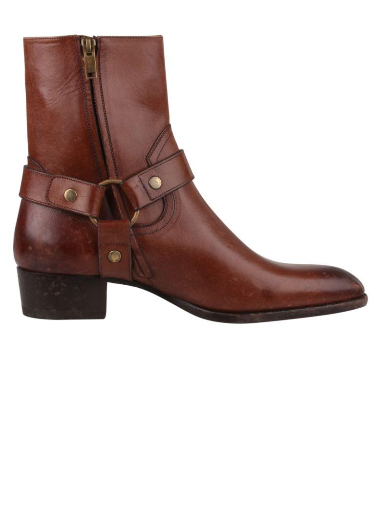 Saint Laurent Boots - Brown
