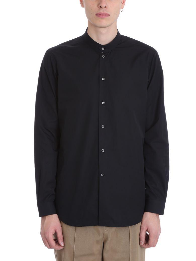 Alessandro Gherardi Black Cotton Shirt - black