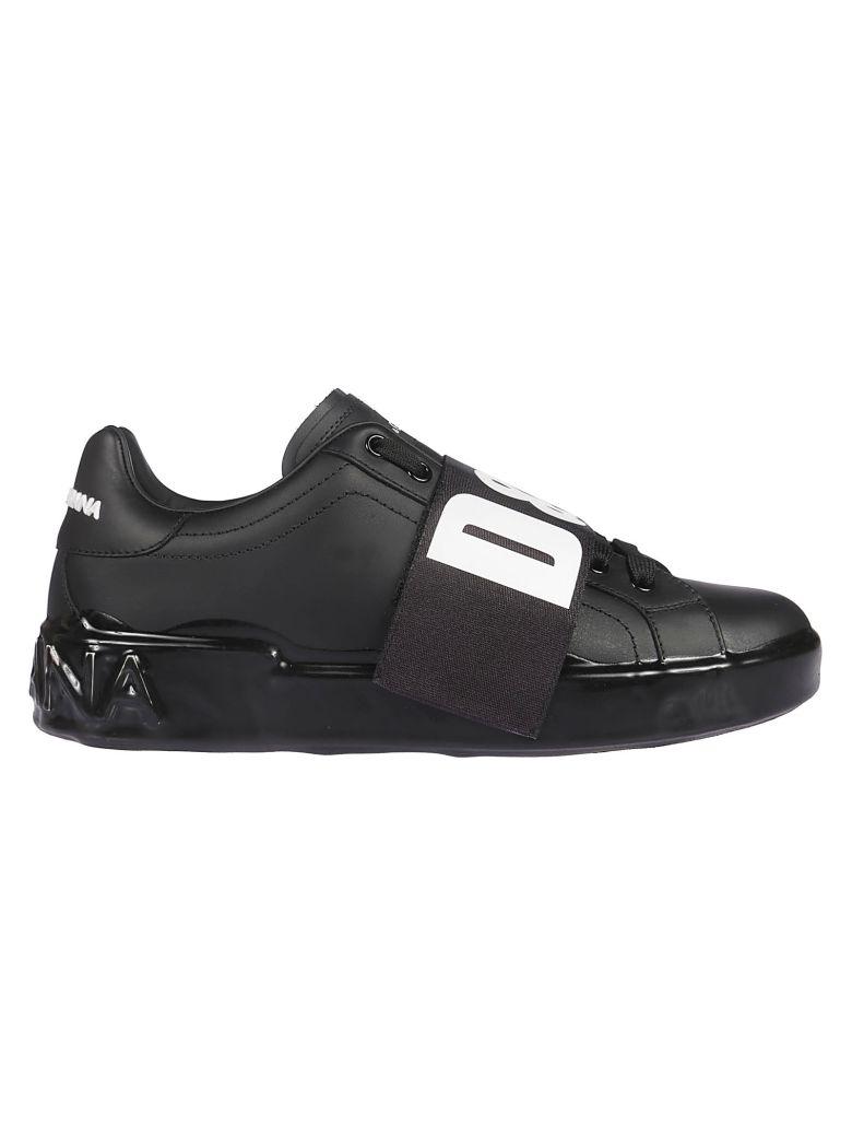Dolce & Gabbana Melt Portofino Sneakers - white black