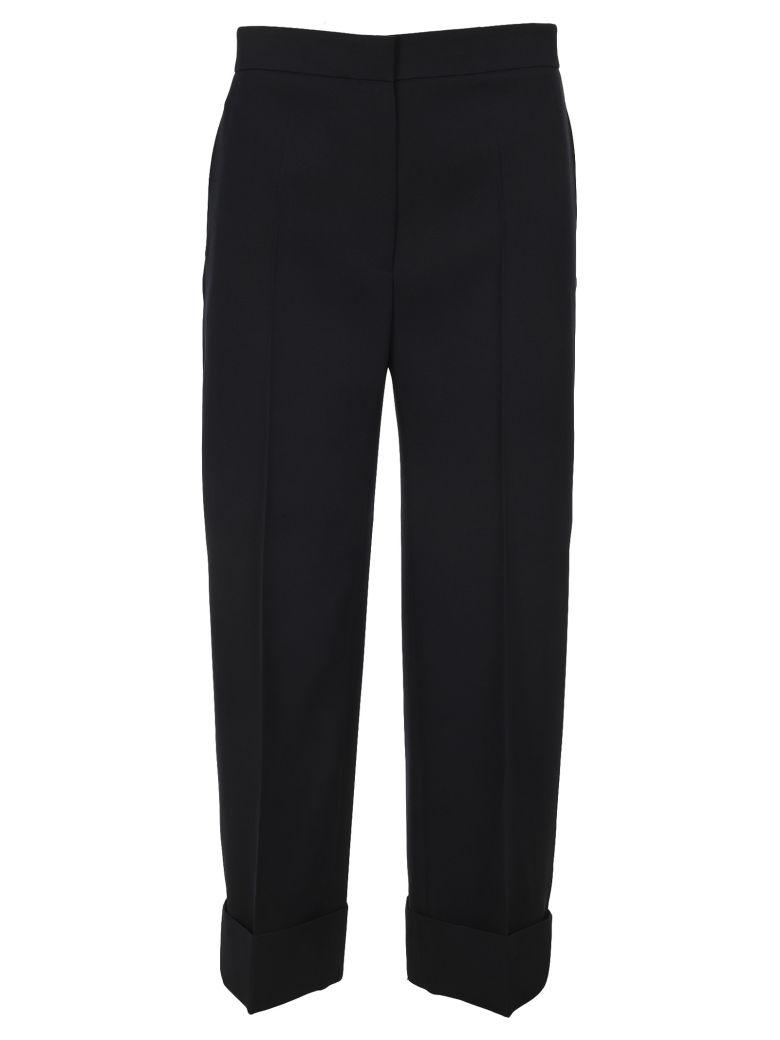 Jil Sander Essential Cropped Pants - DARK BLUE