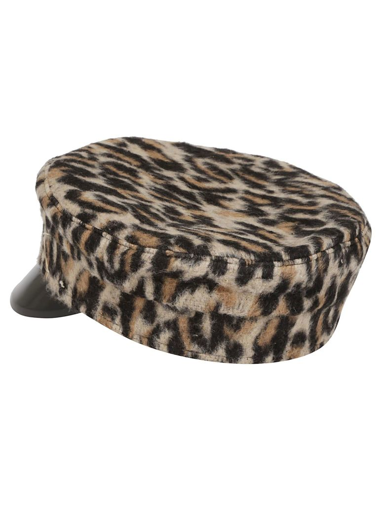 Ruslan Baginskiy Leopard Baker Boy Hat - Leopard