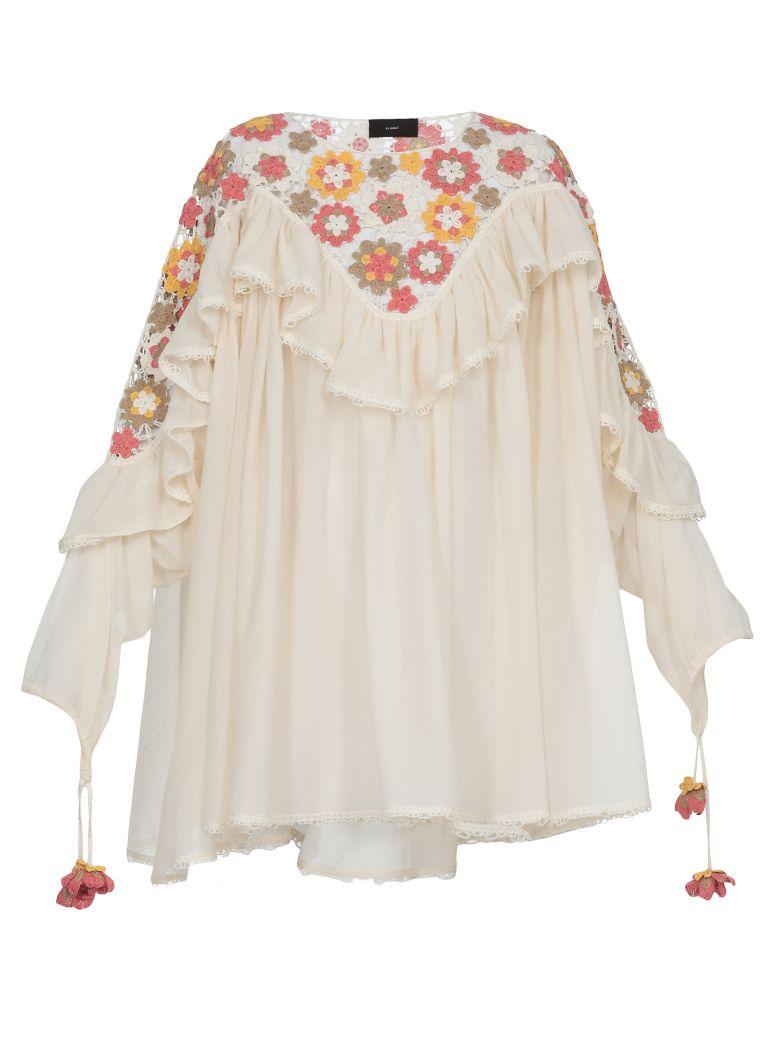 Alanui Cornely Dress - LAPPONIA WHITE MULT