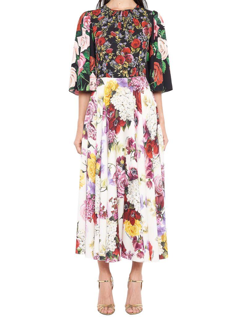Dolce & Gabbana 'fiorellini' Dress - Multicolor