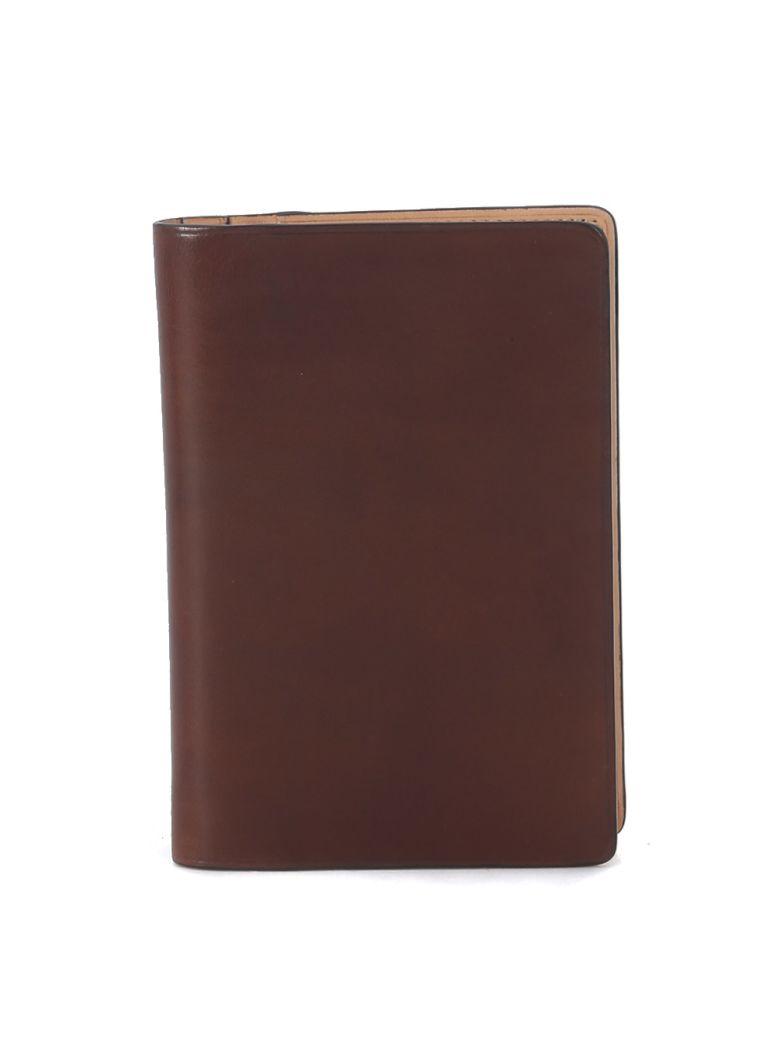 Il Bussetto Hazelnut Tuscan Leather Passport Holder - Brown