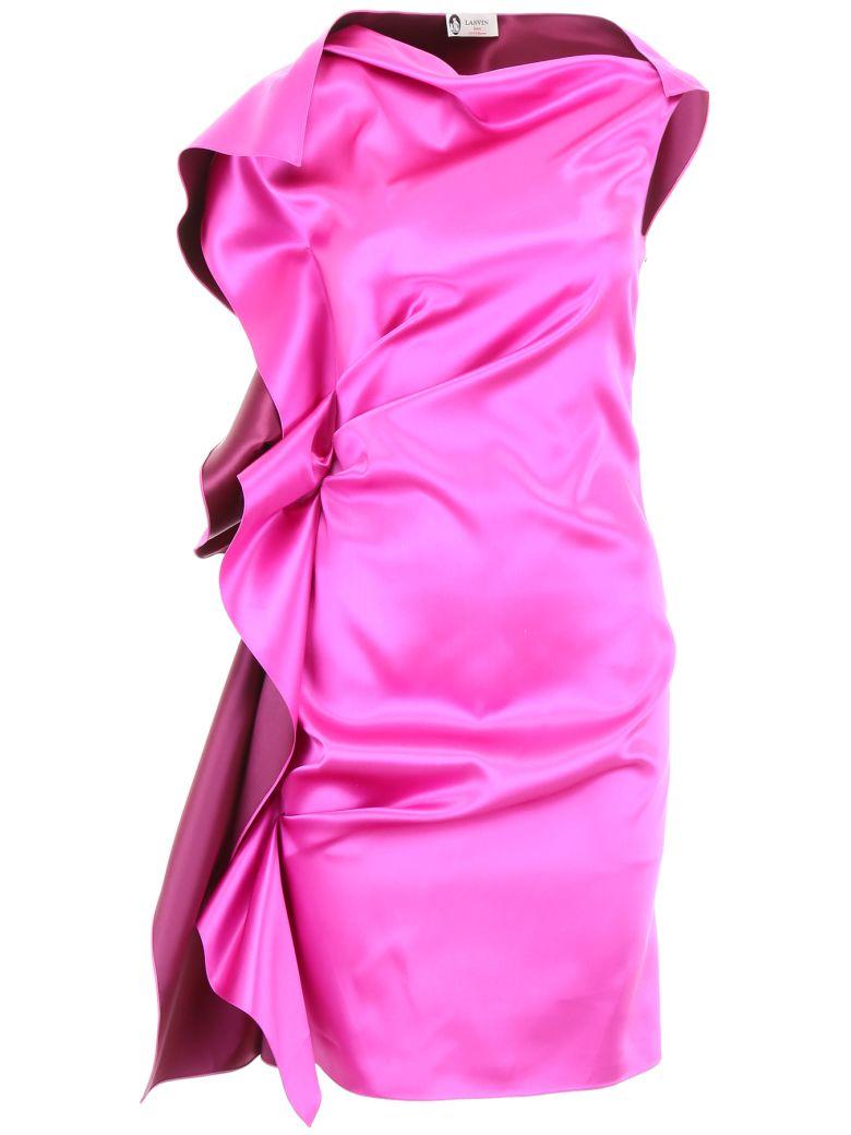 Lanvin Ruffled Dress - SHOCKING (Fuchsia)