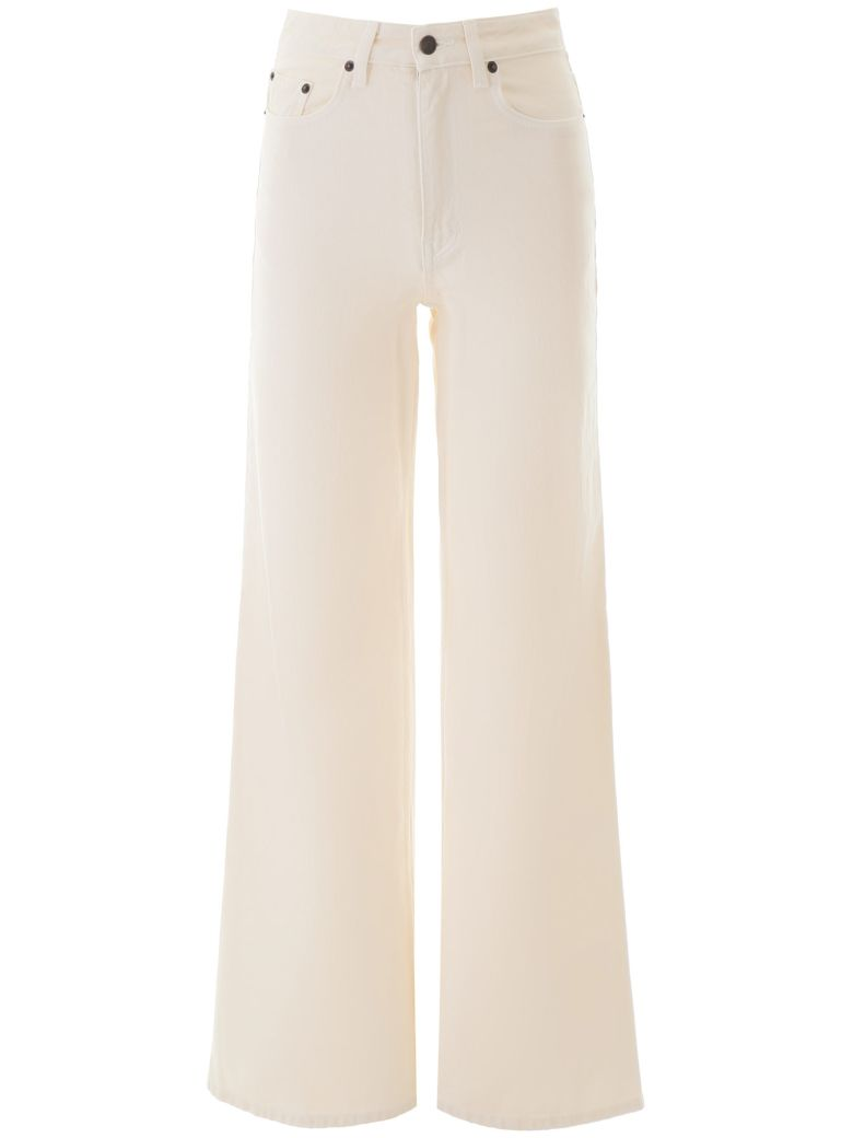 The Row Flared Jeans - VANILLA (Beige)