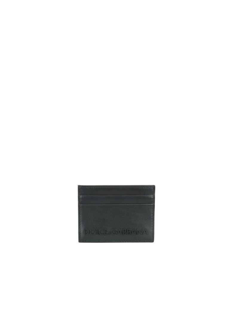 Dolce & Gabbana Logo Cards Holder - Black