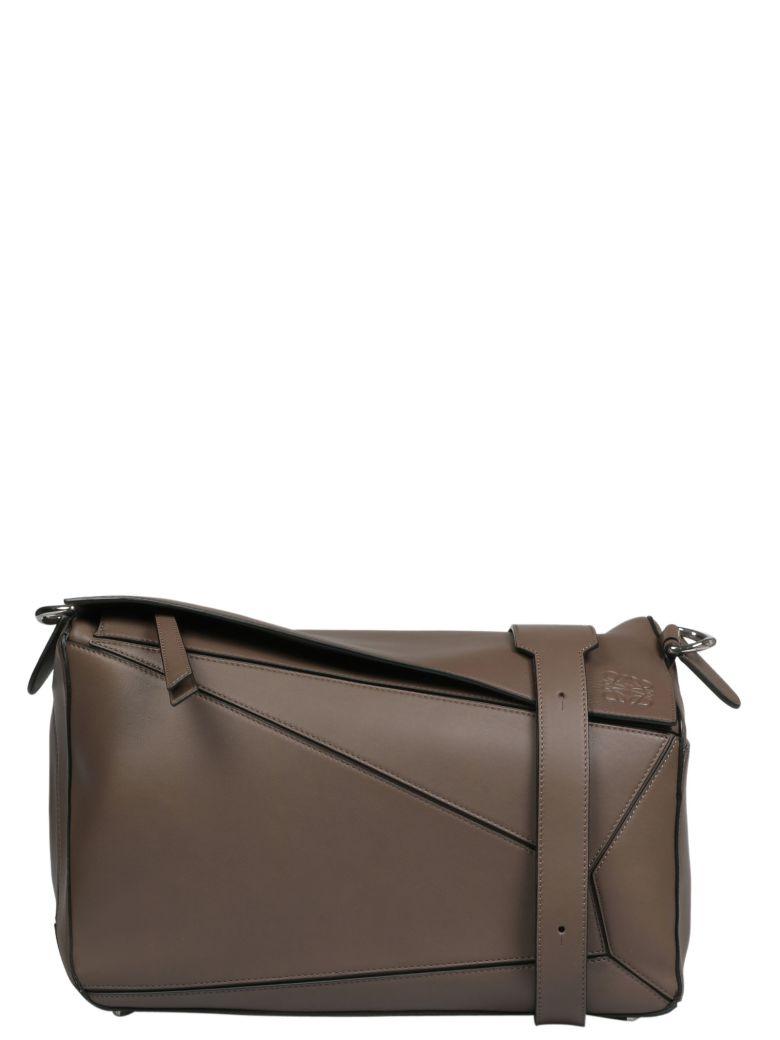 Loewe Puzzle Hand Bag - Dark Taupe