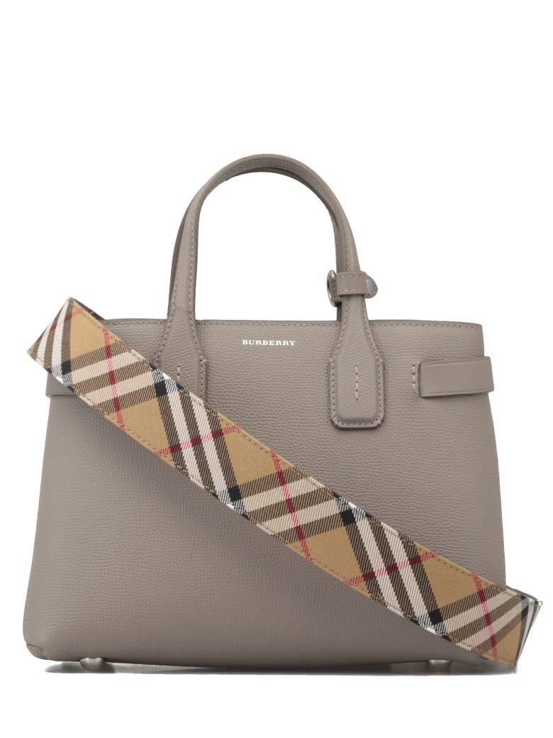 Burberry Small Banner - TAUPE BROWN