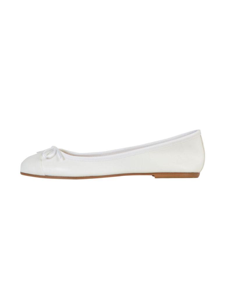 Anna Baiguera Ballerina Flats - White