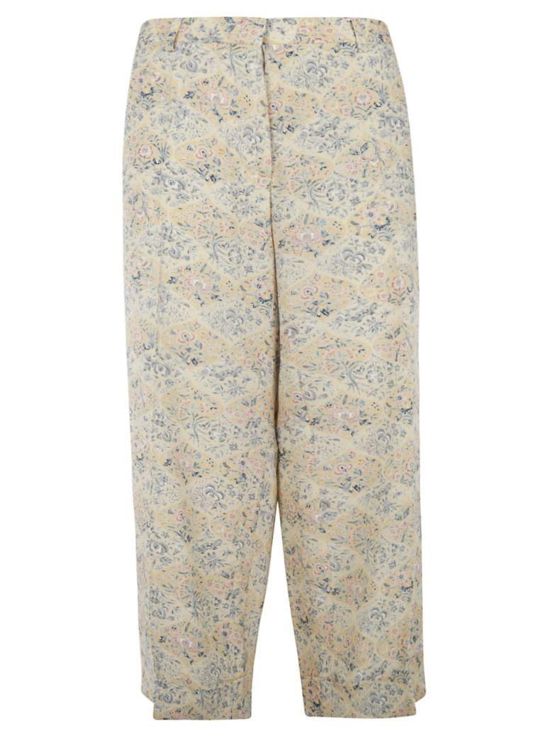 Ibrigu Floral Print Long Trousers - Fantasy4