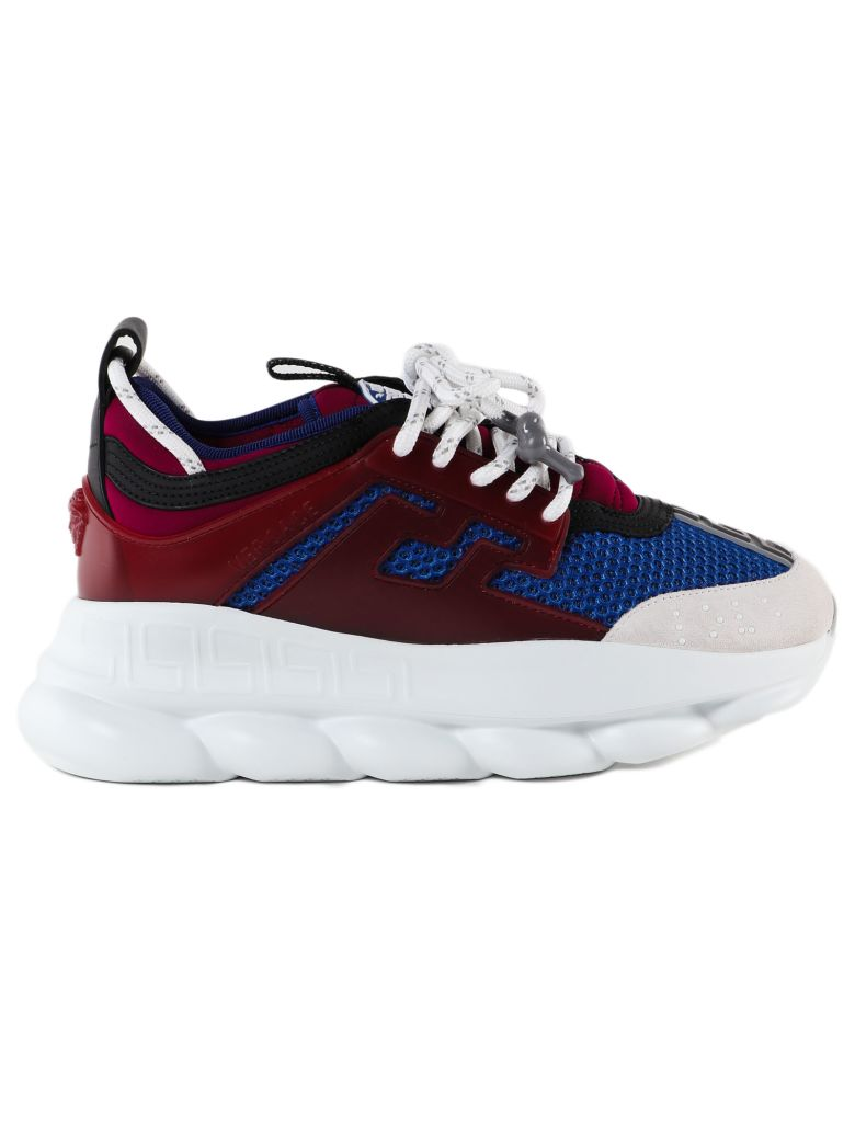 Versace Chunky Sole Sneakers - Gb Anemone Bluette